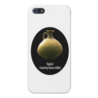England Canterbury romersk kulturföremålkrukmakeri iPhone 5 Hud