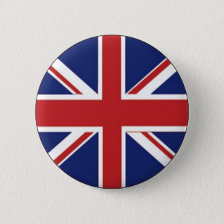 England flagga standard knapp rund 5.7 cm