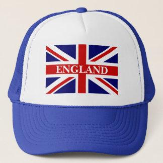 England hatt med brittisk facklig jackflagga keps