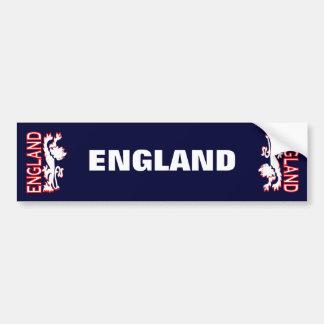 England lejon bildekal
