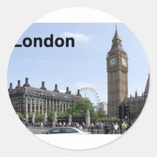 England London stora Ben (St.K) Runt Klistermärke