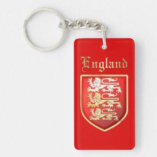 England - royalärmar nyckelring