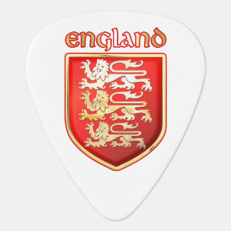 England - vapensköld plektrum