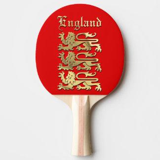 England | vapenskölden pingisracket