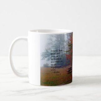 """Enhet"" Psalm133:1 Kaffemugg"