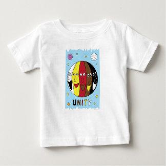 """""""ENHET"""" utslagsplatsskjorta för babyar Tee"""