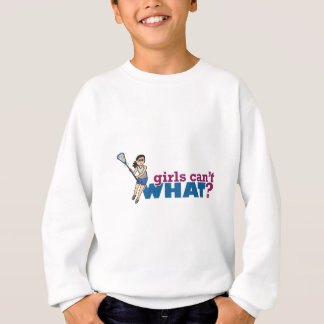 Enhetliga blått för flickaLacrossespelare Tshirts