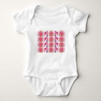 Enhetrytmmönster - rosa Petalkonst Tee Shirts