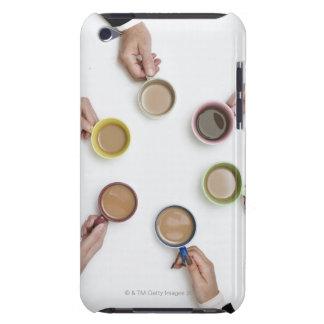 Enig affärsteamwork & teambuilding begrepp iPod touch Case-Mate fodral