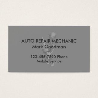 Enkel Auto mekaniker Visitkort