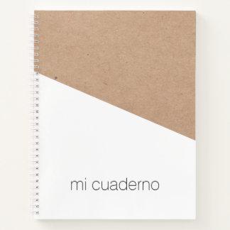 Simple Elegant Printed Kraft White Geometric