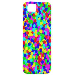 Enkel färgrik roligt pricker design iPhone 5 cases