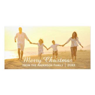 Enkel god jul - fotokort