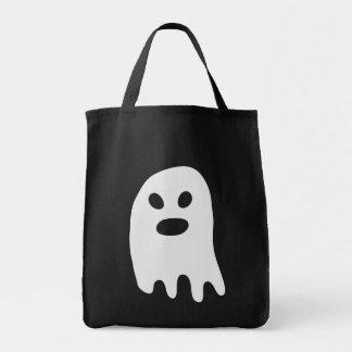 Enkel Halloween vitspöke Tygkasse