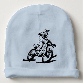 Enkel Motorcross cykel och ryttare