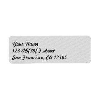 enkel randig etikett returadress etikett