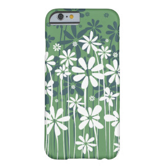 Enkel ren blomstra blommigt barely there iPhone 6 skal