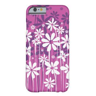 Enkel ren blomstra blommigt i rosor barely there iPhone 6 skal