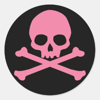 Klistermärken med Döskallar