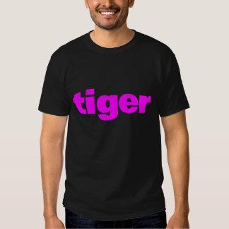 ENKEL ROSA TIGER för COREY-TIGER80-tal Tshirts