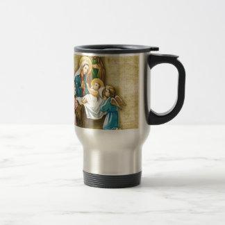 Enkel söt Nativity avbildar gåvan av kärlekjul Resemugg