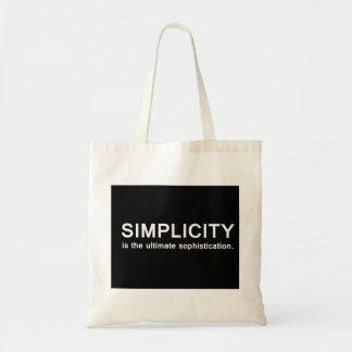 Enkelhet Budget Tygkasse
