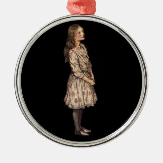 Enkelt Alice av Arthur Rackham Julgransprydnad Metall