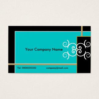 Enkelt eleganta visitkortar set av standard visitkort