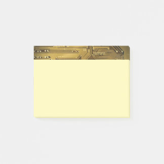 Simple Elegant Gold Circuit Board Computer