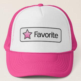 """Enkelt """"favorit-"""" hatt keps"""