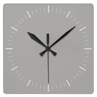 ENKELT minimalist för STIL | i någon färg Fyrkantig Klocka
