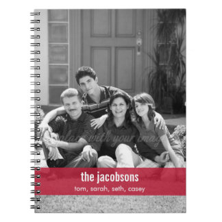 Enkelt modern musikbandpersonliganteckningsbok spiralbundna anteckningsböcker