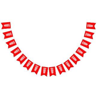 Enkelt symboler/symboler - stång av Asclepius + Vimplar