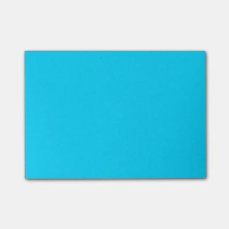 Enkla himmelblått post-it block