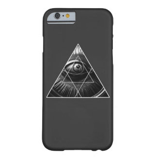 Enkla Illuminati Barely There iPhone 6 Skal