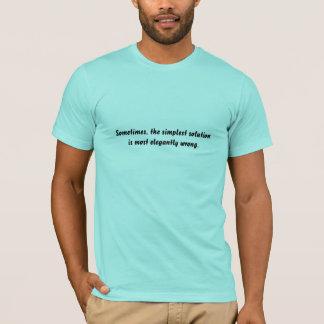Enkla lösningar tshirts
