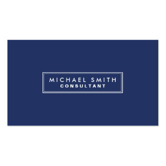 Enkla moderna blått för yrkesmässig elegantslätt set av standard visitkort