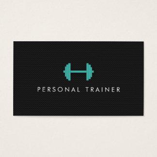 Enkla personliga instruktörkonditionvisitkortar
