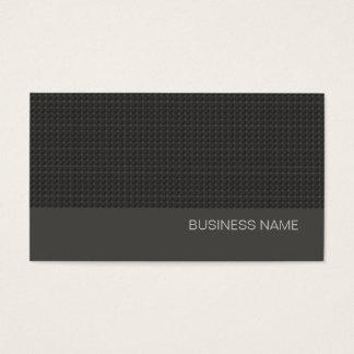 Enkla svart stads- moderna kolgrått visitkort