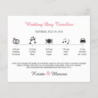 Enkla symboler som gifta sig Timeline