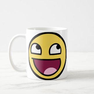 Enorm ansiktemugg kaffemugg
