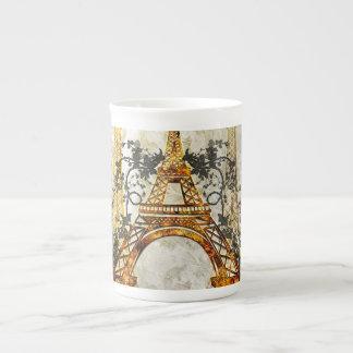 Enorm eiffeltower bone china kopp