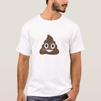 Enorm Emoji bajsT-tröja Tee Shirts