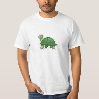 Enorm Emoji sköldpaddaT-tröja! Tröja