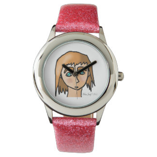 Enorm flicka armbandsur