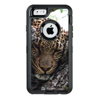 Enorm Leopard OtterBox Defender iPhone Skal