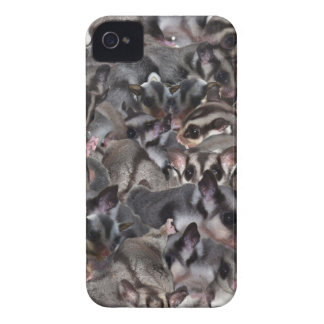 Enorm sockerglidflygplanCollage. iPhone 4 Case-Mate Skydd