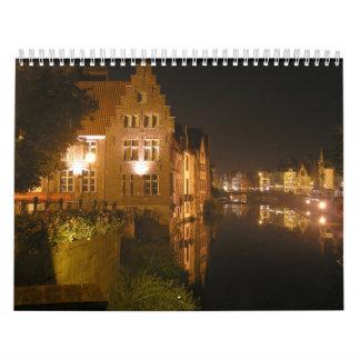 Enorm ställen av världen kalender
