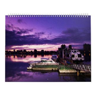 Enorm ställen av världskalendern 2012 kalender