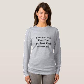 Enorm T-tröja (långärmaden) Tee